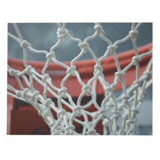 Basketball Net Memo Notepads