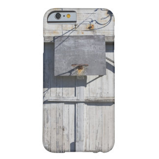Basketball net on rustic building barely there iPhone 6 case