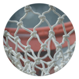 Basketball Net Party Plates
