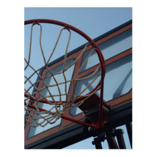 BasketBall Net Postcard