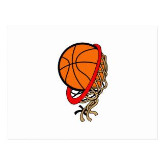 BASKETBALL NET POSTCARD