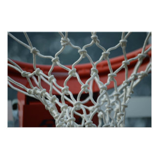 Basketball Net Posters
