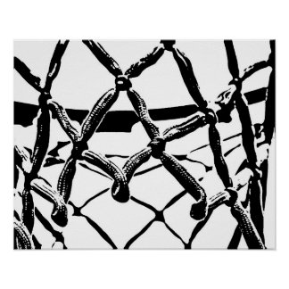 Basketball Net Poster