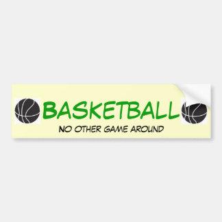 Basketball NOGA Car Bumper Sticker