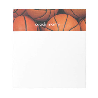 Basketball Notepads