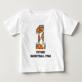 Basketball Number 1 Future Basketball Star Baby T-Shirt
