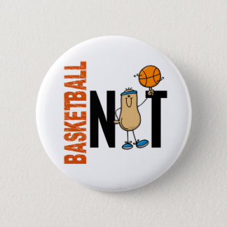 Basketball Nut 1 6 Cm Round Badge