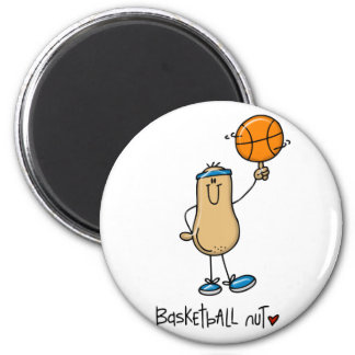 Basketball Nut 3 Magnet