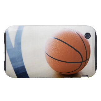 Basketball on court iPhone 3 tough cover