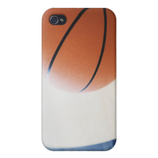 Basketball on court iPhone 4 case