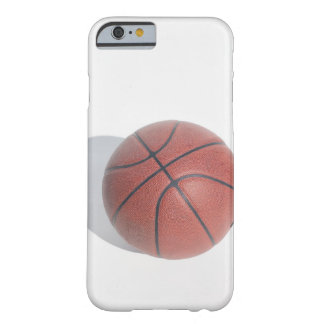 Basketball on white background barely there iPhone 6 case