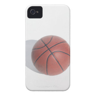 Basketball on white background iPhone 4 covers