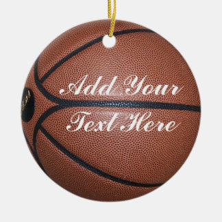 BASKETBALL-ORNAMENT CHRISTMAS ORNAMENT
