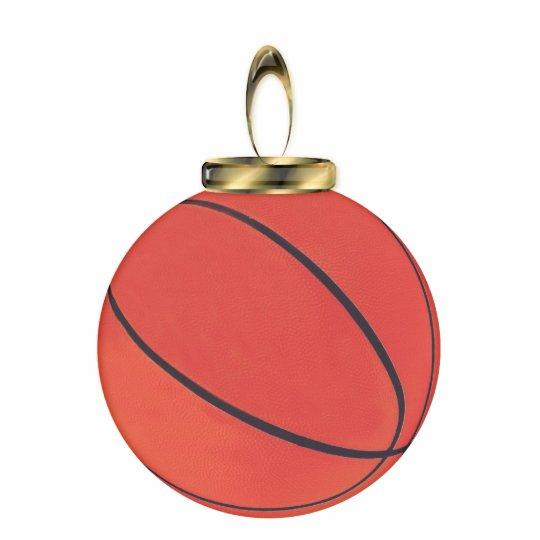 Basketball Ornament Photo Sculpture Decoration