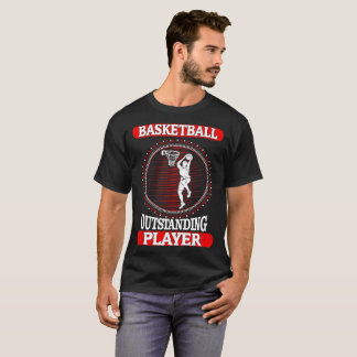 Basketball Outstanding Player Sports Outdoors Tees