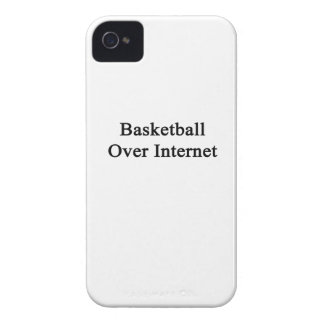 Basketball Over Internet Case-Mate iPhone 4 Cases