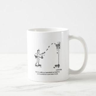 Basketball & Pancakes Coffee Mugs