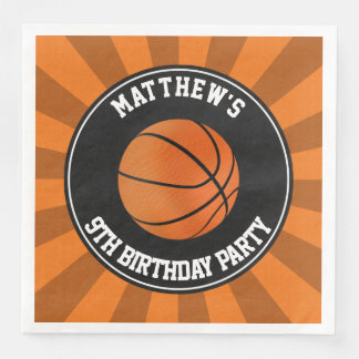 Basketball Party Paper Dinner Napkins Disposable Serviette