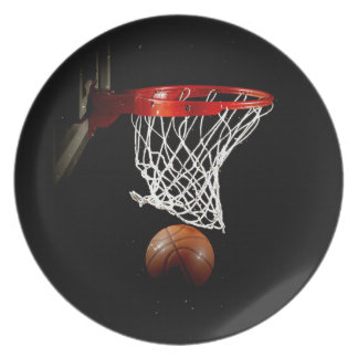 Basketball Party Plates