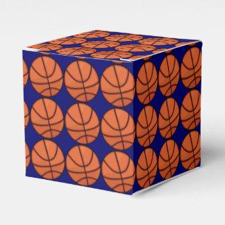 Basketball Pattern Custom Favour Box