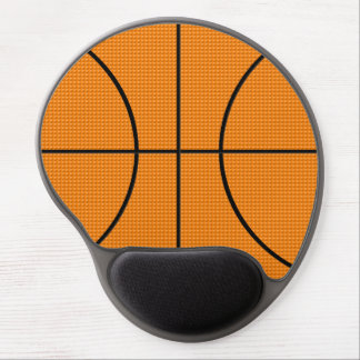 Basketball pattern - gel mouse mat
