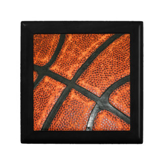 Basketball Pattern Small Square Gift Box