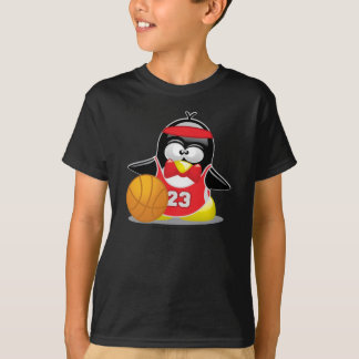 Basketball Penguin T-Shirt