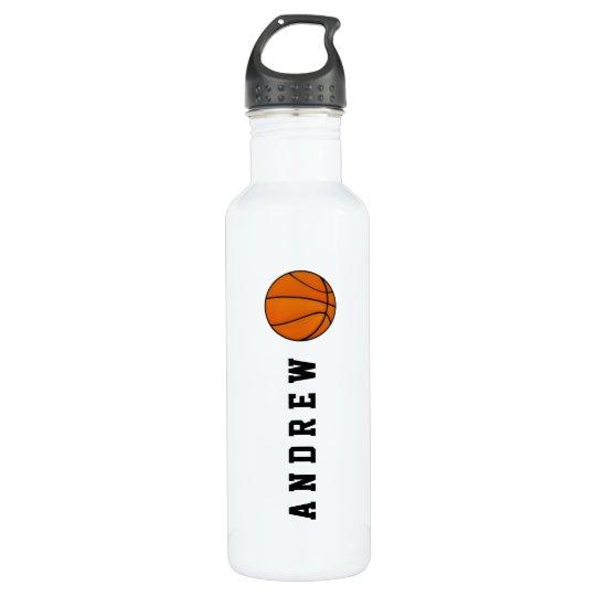 Basketball Personalised Name or Monogram 710 Ml Water