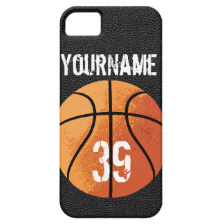 Basketball (Personalizable) Barely There iPhone 5 Case