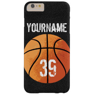 Basketball (Personalizable) Barely There iPhone 6 Plus Case