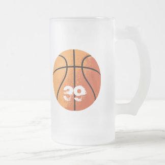 Basketball (Personalizable) Glass Beer Mugs