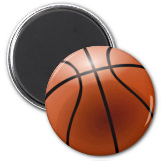 Basketball-Personalize It! 6 Cm Round Magnet