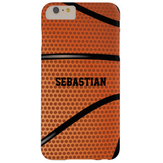 Basketball Personalized Barely There iPhone 6 Plus Case