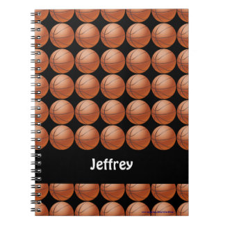 Basketball Personalized Notebook