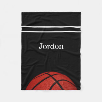 Basketball Personalized wilth name blanket