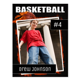 Basketball Photo Sports Trading Card