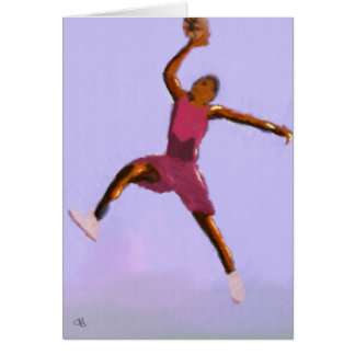 Basketball Play Art Card
