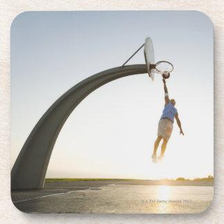 Basketball player 3 coaster