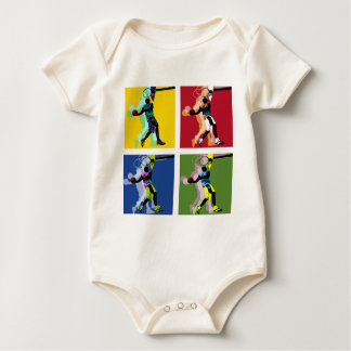 Basketball player baby bodysuit