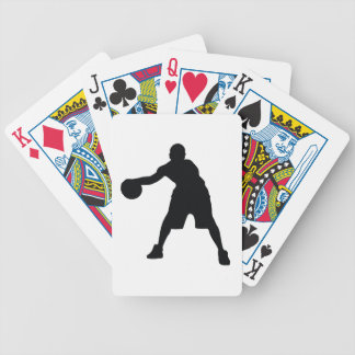 Basketball Player Bicycle Playing Cards