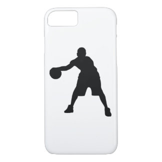 Basketball Player Black Silhouette iPhone 8/7 Case