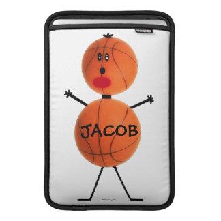 Basketball Player Cartoon MacBook Sleeve