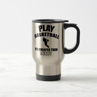Basketball player designs mug