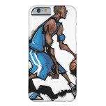 Basketball player dribbling ball barely there iPhone 6 case