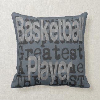 Basketball Player Extraordinaire Cushion