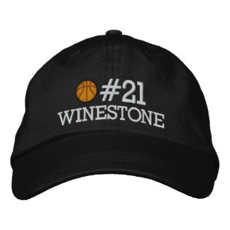 Basketball - Player - Family - SRF Embroidered Hat