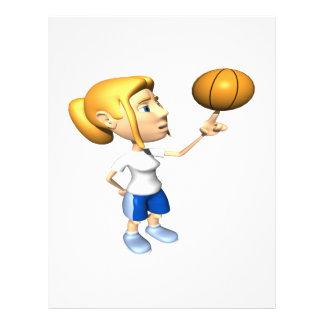 Basketball Player Flyer Design