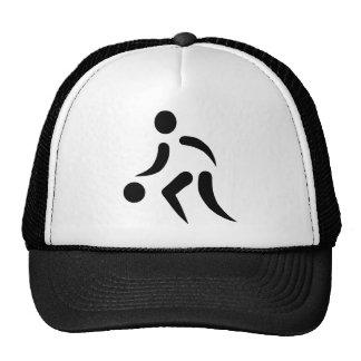 Basketball Player Trucker Hats