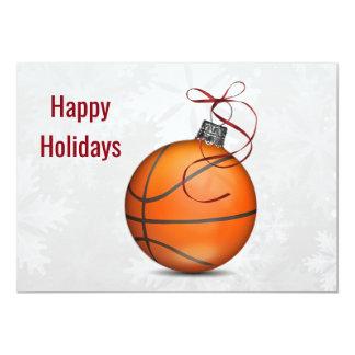 basketball player Holiday Greeting Cards