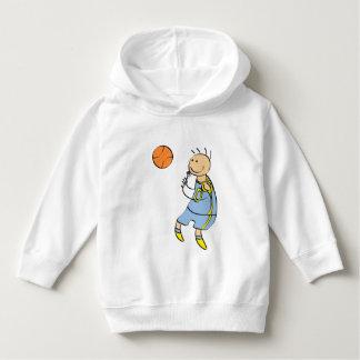 Basketball player hoodie